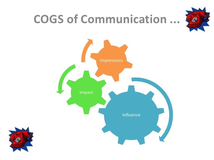 COGS of Communication ...<br />