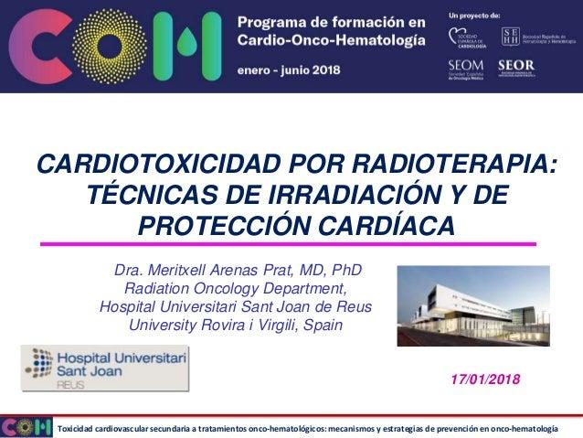 Toxicidad cardiovascular secundaria a tratamientos onco-hematológicos: mecanismos y estrategias de prevención en onco-hema...