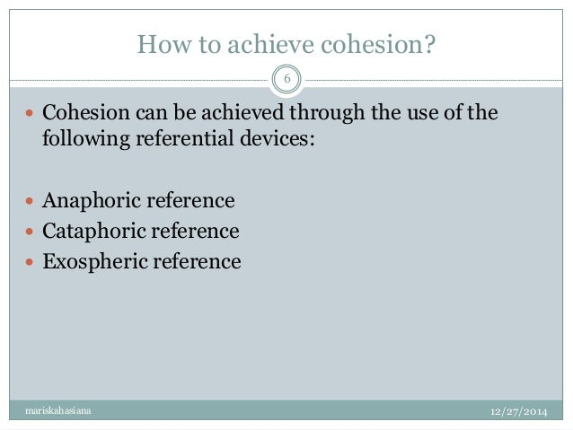 anaphoric and cataphoric reference pdf