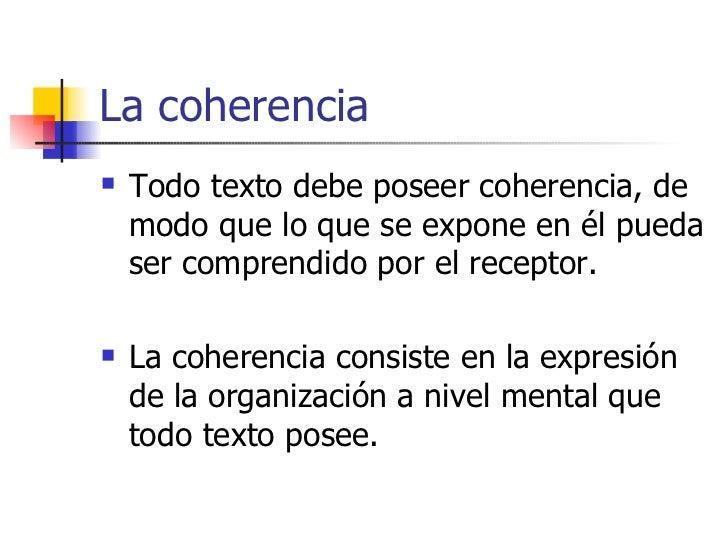 Coherencia Y Cohesión Slide 3