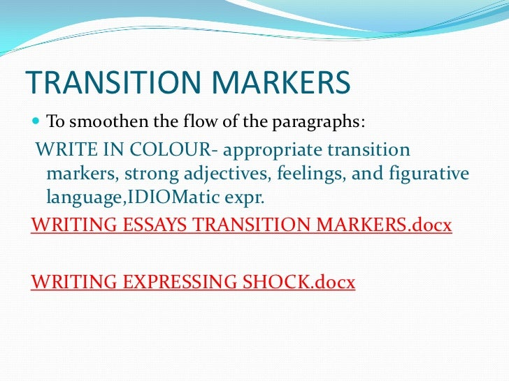 Essays on loss and transition