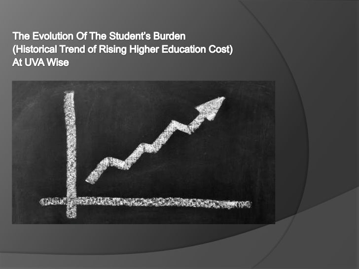    The Price of Tuition    is outpacing the rate    of inflation   Faster than medical    care   Students are    borrow...