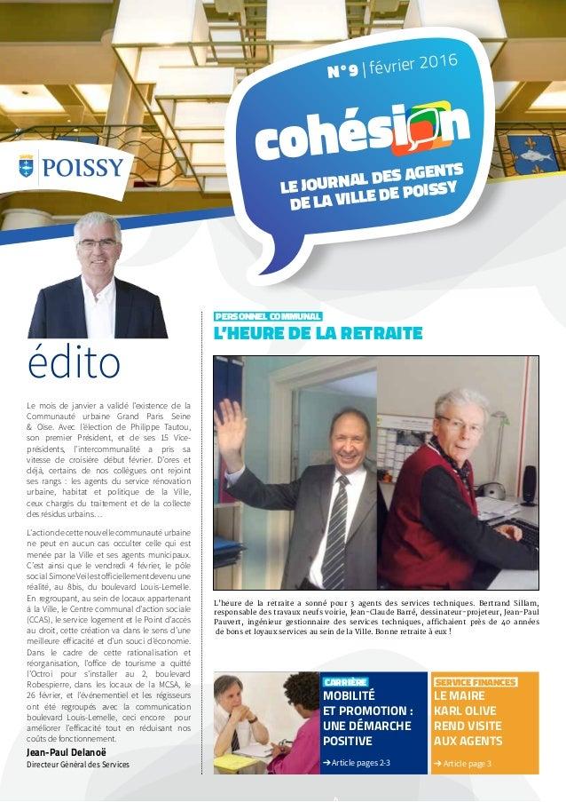 carrière mobilité et promotion : une démarche positive ➔ Article pages 2-3 service finances le maire karl olive rend visit...
