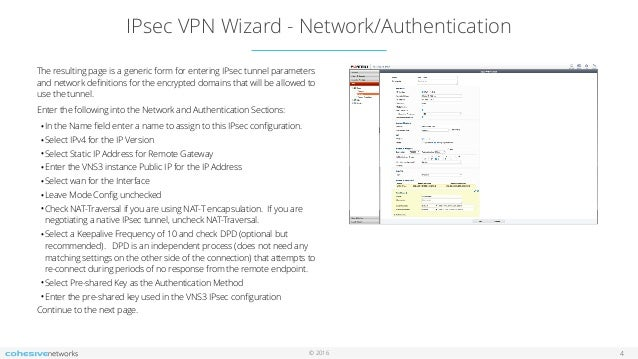 Cohesive Networks Support Docs: VNS3 Setup for Fortigate