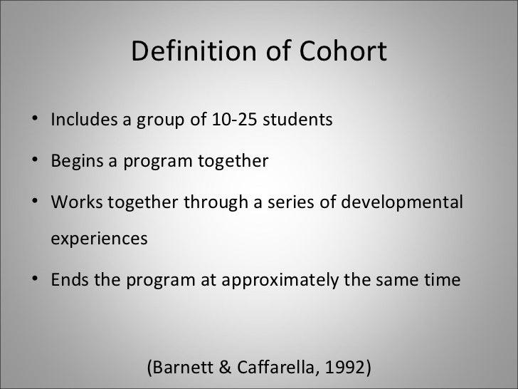 Cohort (statistics) - Wikipedia