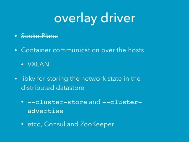 Container orchestration integration openstack kuryr for Consul openstack