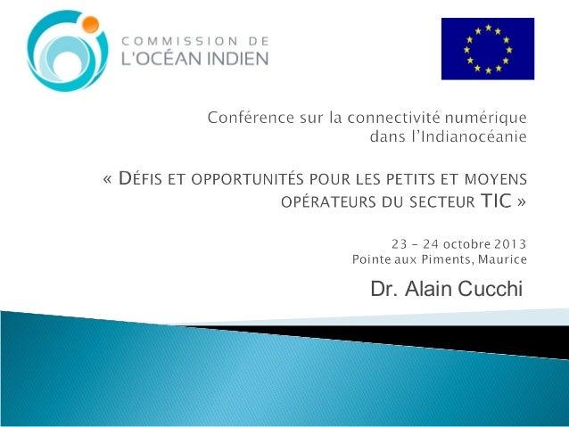 Dr. Alain Cucchi