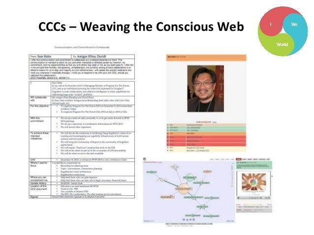 CCCs – Weaving the Conscious Web