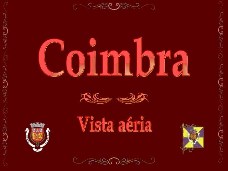 Coimbra Vista aéria