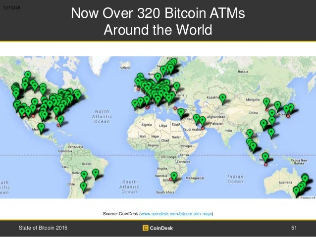 Now Over 320 Bitcoin ATMs