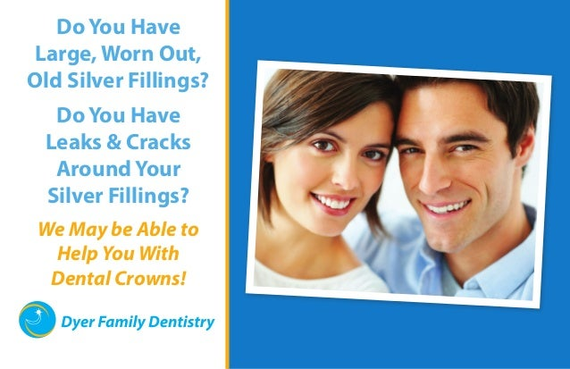 Do You Have Large, Worn Out, Old Silver Fillings? Do You Have Leaks & Cracks Around Your Silver Fillings? We May be Able t...