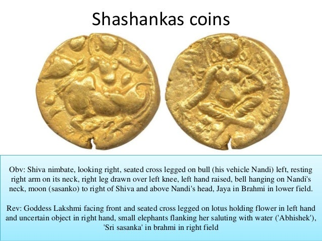 Image result for sashanka coin