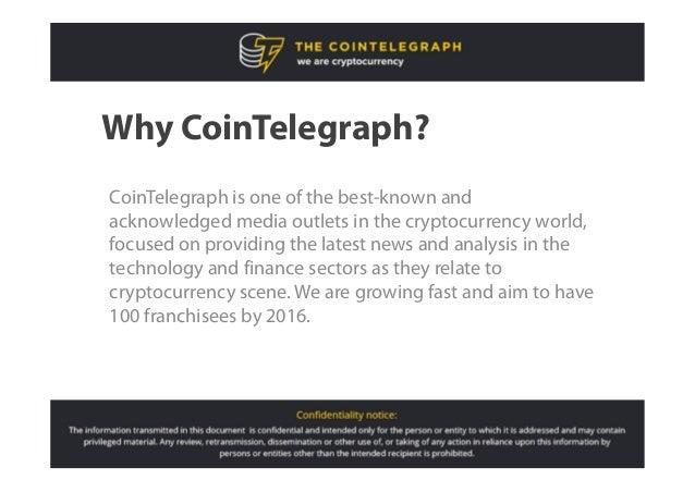 CoinTelegraph franchise program Slide 3