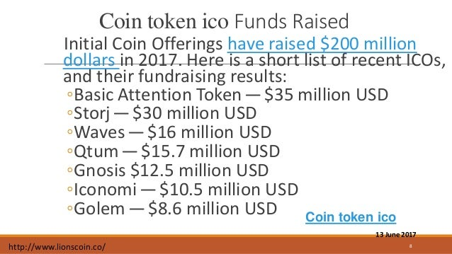Coin token ico typically involves selling a new digital currency at a…