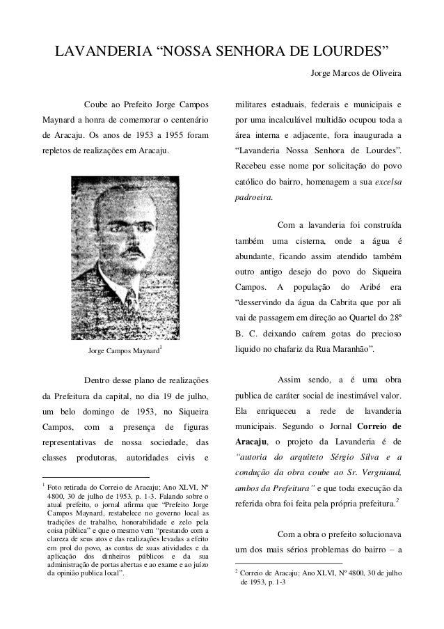 """LAVANDERIA """"NOSSA SENHORA DE LOURDES""""                                                                                     ..."""