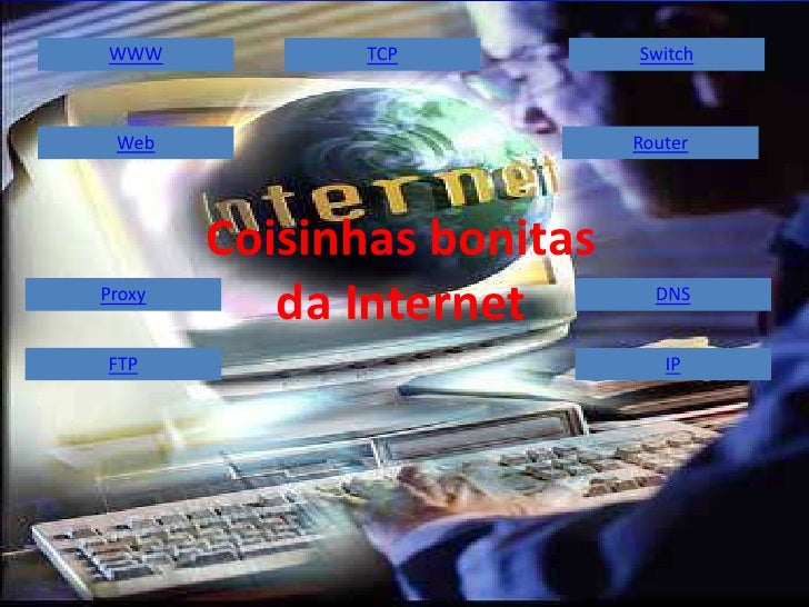 WWW            TCP          Switch     Web                        Router             Coisinhas bonitas Proxy            da...