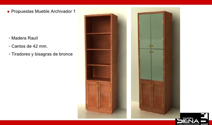 Dise o mueble oficina 1 for Mueble archivador oficina