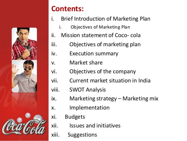 analysis vission and mission of coca cola © 2018 the coca-cola company, all rights reserved coca-cola®, taste the feeling, and the contour bottle are trademarks of the coca-cola company.
