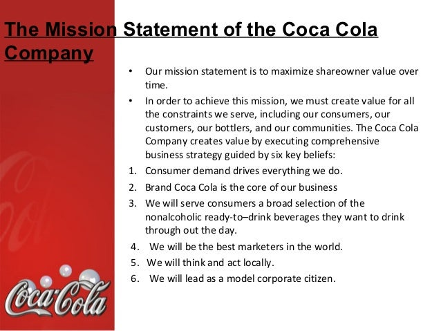 The Coca Cola Balance Scorecards Essay