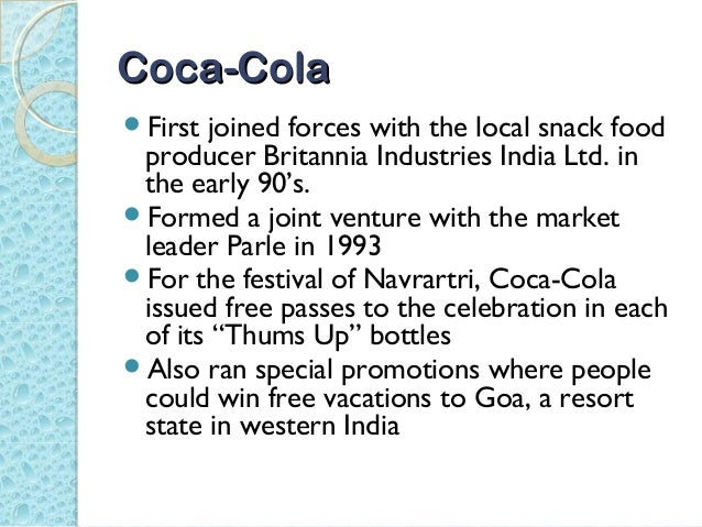 coke and pepsi learn to compete Case 1-3 coke and pepsi learn to compete in india siu850903757 yuan, ye question 1 the specific aspects of the political environment are as followings the.