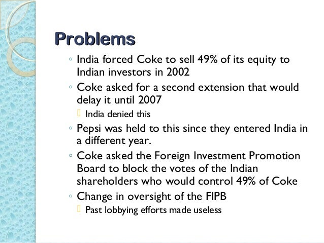 Coke Pepsi Learn To Compete In India Case Study Solution & Analysis
