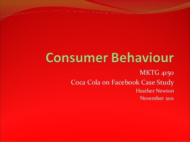 coca cola on facebook case analysis Coca-cola is one of the world's most recognisable brands case study: 3 famous coca-cola marketing campaigns in terms of facebook specifically.