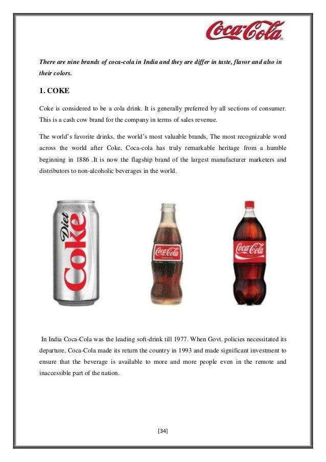soft drink market share 2018