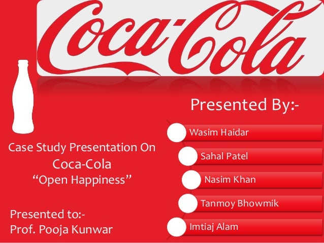 coca cola case study ppt