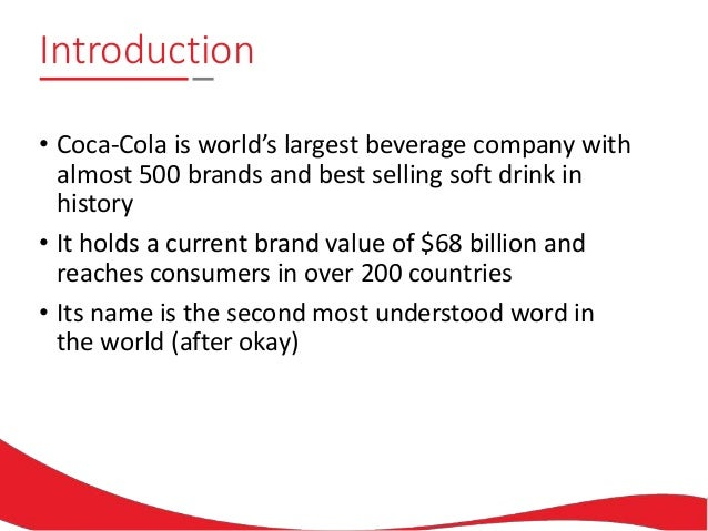 an introduction to the origins and evolution of the beverage brand coca cola The first marketing efforts in coca‑cola history were executed through coupons promoting free samples of the beverage considered an innovative tactic back , couponing was followed by newspaper advertising and the distribution of promotional items bearing the coca‑cola script to participating pharmacies.