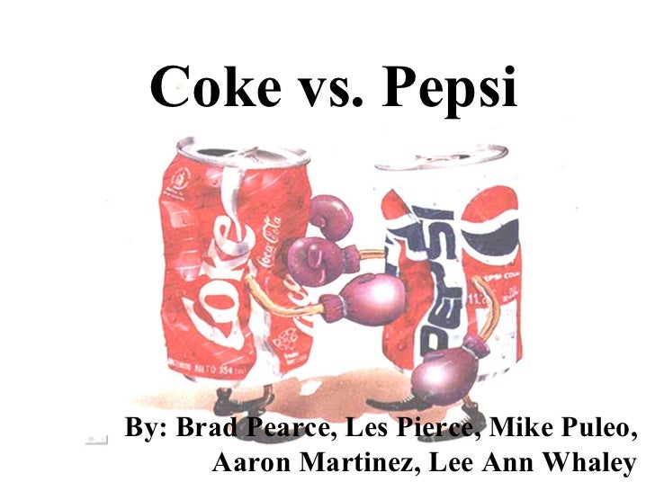 pepsi vs coke essay Read this business essay and over 88,000 other research documents pepsi and coke pepsi cola pepsi cola beverage business was founded at turn of the century by caleb.