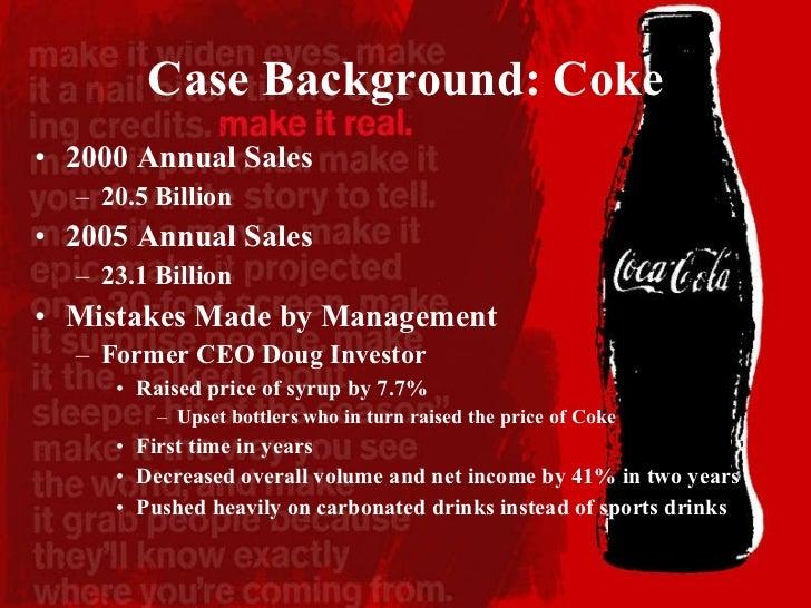 coke vs pepsi 2001 case study