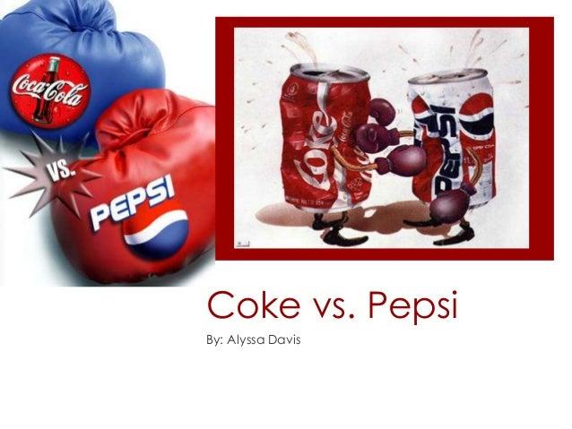 Coke vs. Pepsi By: Alyssa Davis