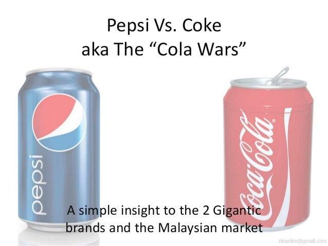 Cola wars continue coke vs pepsi 1990s cola wars