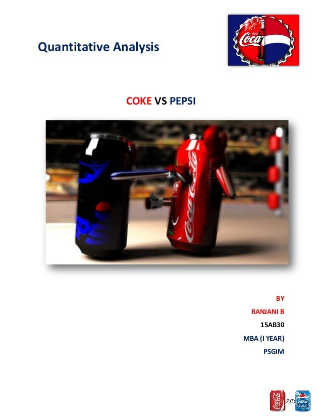 coke vs pepsi case study essays Coke and pepsi being competitors of in this case study that i extensively read there's a specialist from your university waiting to help you with that essay.