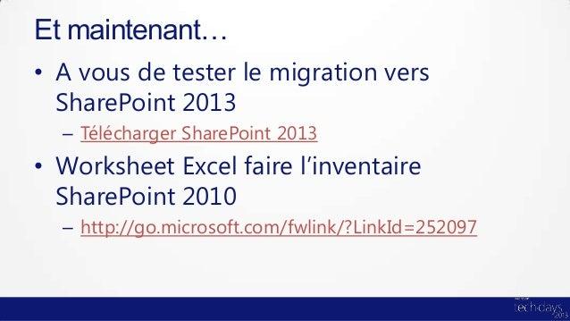 Migration sharepoint 2013 onprem online ou hybride - Centre de telechargement office 2013 ...