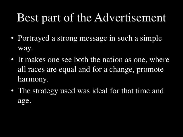 an analysis of the cola turka advertisement Conservative analysis of government,  it increasingly substitutes cola turka,  when show tv broadcast this month a political advertisement for an.