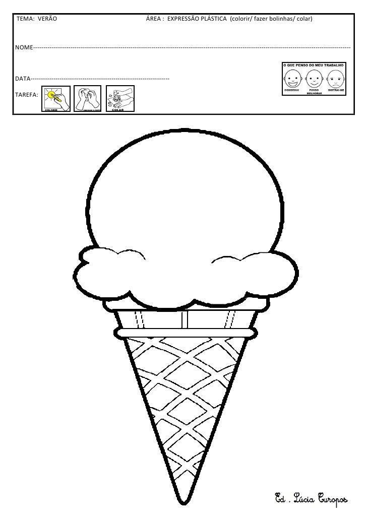 Colagem do gelado