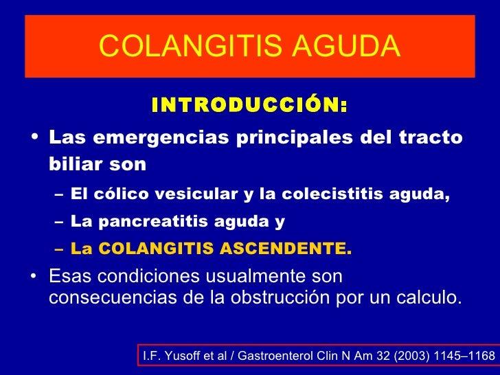 COLANGITIS AGUDA Slide 2