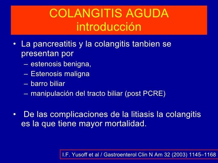 COLANGITIS AGUDA Slide 3