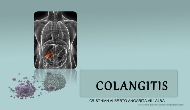 COLANGITIS CRISTHIAN ALBERTO ANGARITA VILLALBA