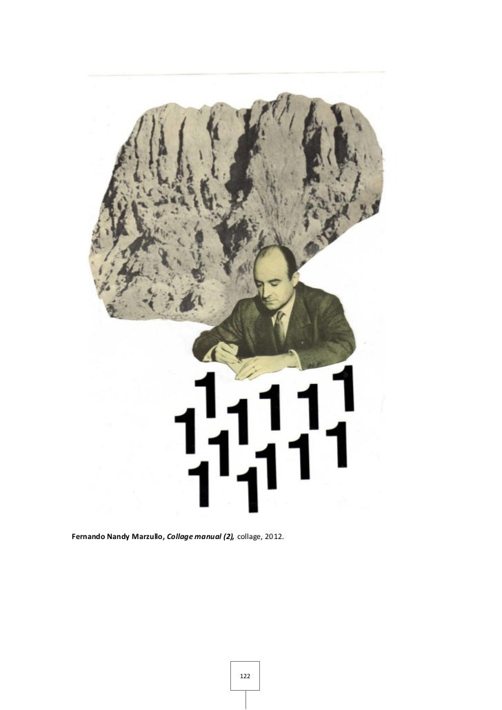 Fernando Nandy Marzullo, Collage manual (2), collage, 2012.                                              122