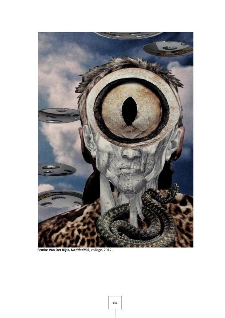 Femke Van Der Rijst, Untitled#03, collage, 2012.                                                   161