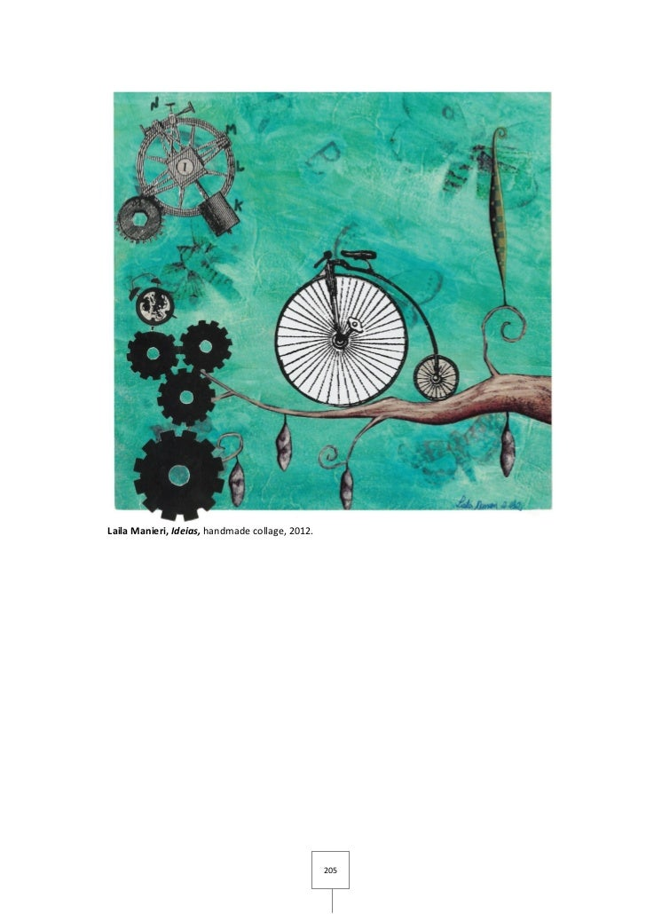 Laila Manieri, Ideias, handmade collage, 2012.                                                 205