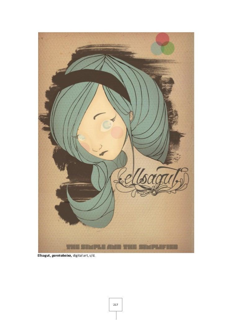 Ellsagut, garotabaixa, digital art, s/d.                                           217