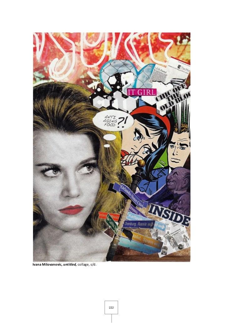 Ivana Milovanovic, untitled, collage, s/d.                                             222