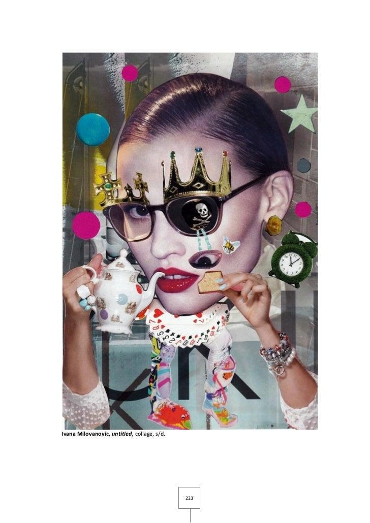 Ivana Milovanovic, untitled, collage, s/d.                                             223