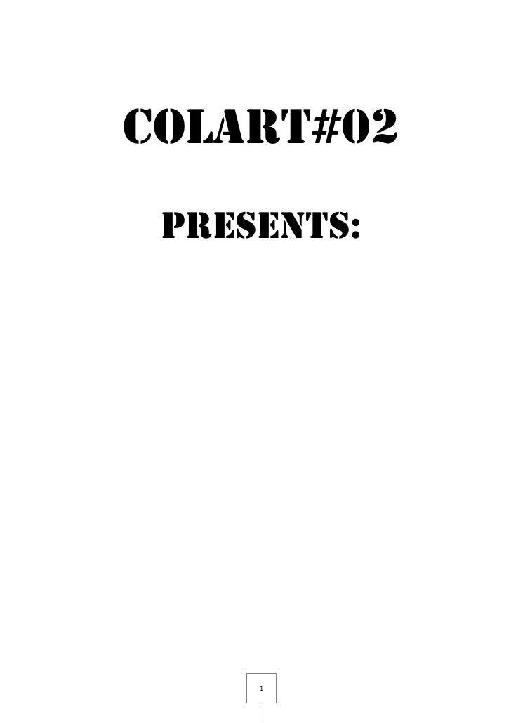 COLART#02 PRESENTS:     1