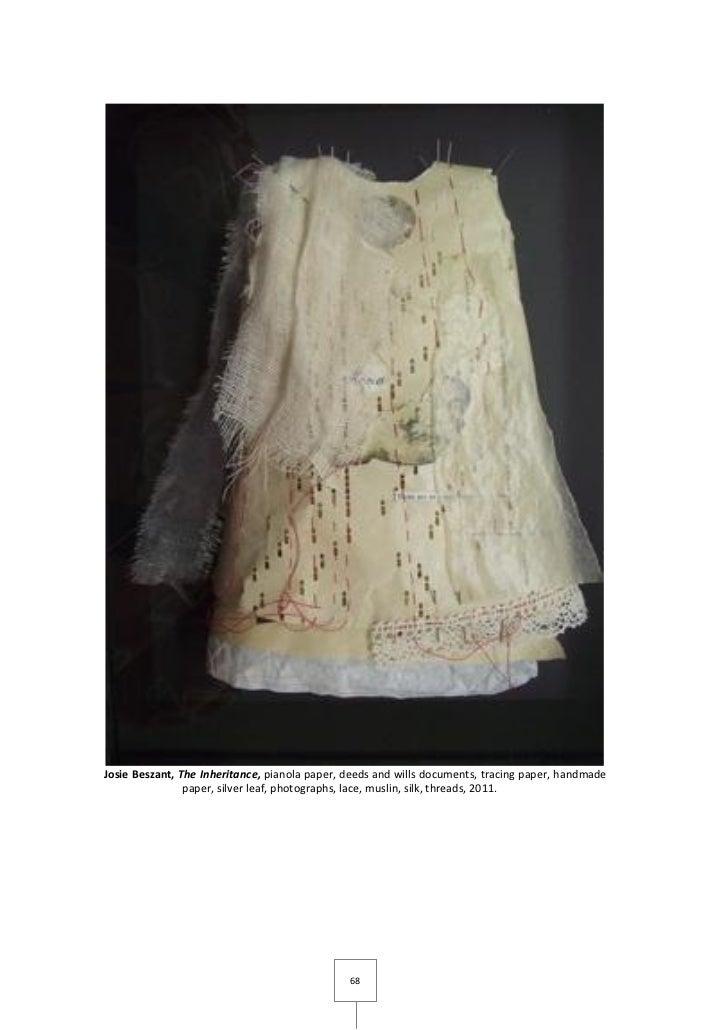 Josie Beszant, The Inheritance, pianola paper, deeds and wills documents, tracing paper, handmade                paper, si...