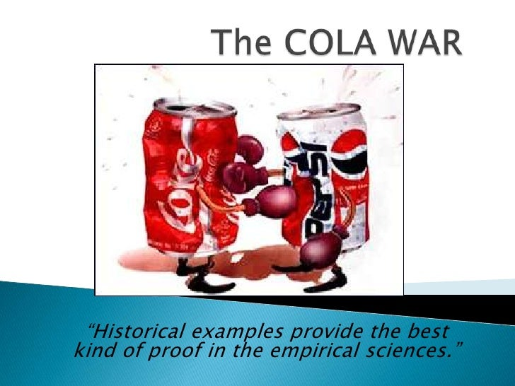 """""""Historical examples provide the bestkind of proof in the empirical sciences."""""""
