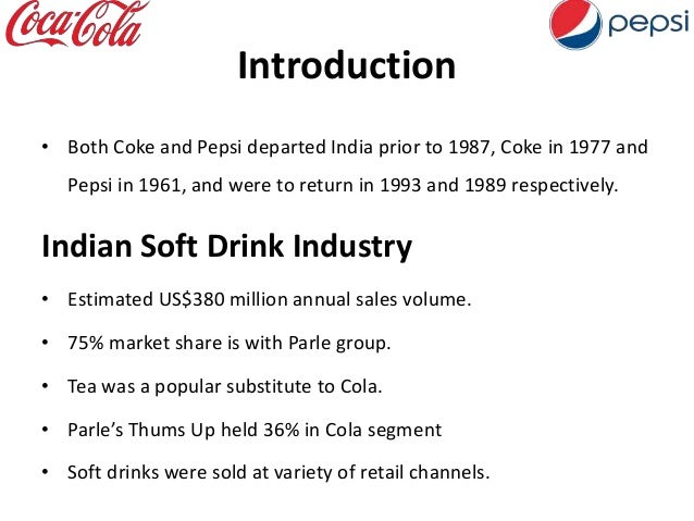Cola Wars Continue: Coke vs. Pepsi in the 1990s